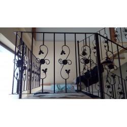 Balustrada fier forjat model 10