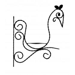"""""""Bird"""" flower holder"""