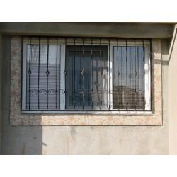 Model 2 gratii ferestre fier forjat