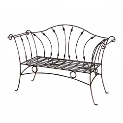 Canapea eleganta fier forjat