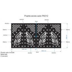 Poarta acces Auto , PA012 ,...
