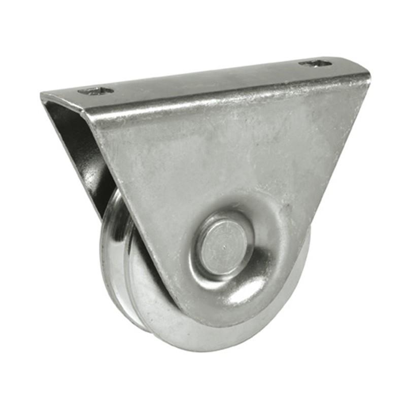 Roti cu suport Φ60 mm profil v