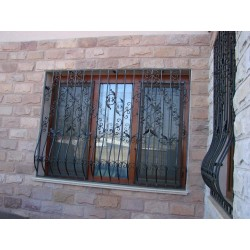 Model 1 gratii ferestre fier forjat